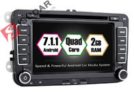 Android 7.1.1 SKODA / VW Car DVD Player For Seat With Canbus Quad Core 2G RAM