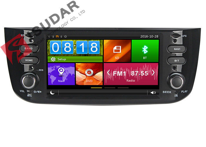 6.2 Inch  Fiat LINEA  Car Multimedia Audio Video Entertainment System Support DVR